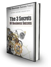 3 Secrets Of Business Success