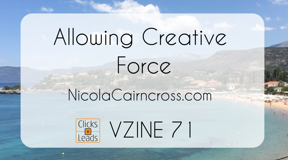 Allowing Creative Force