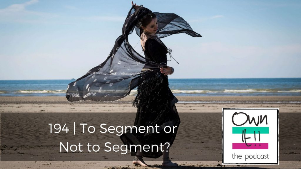 Own It! 194 | To Segment or Not to Segment?