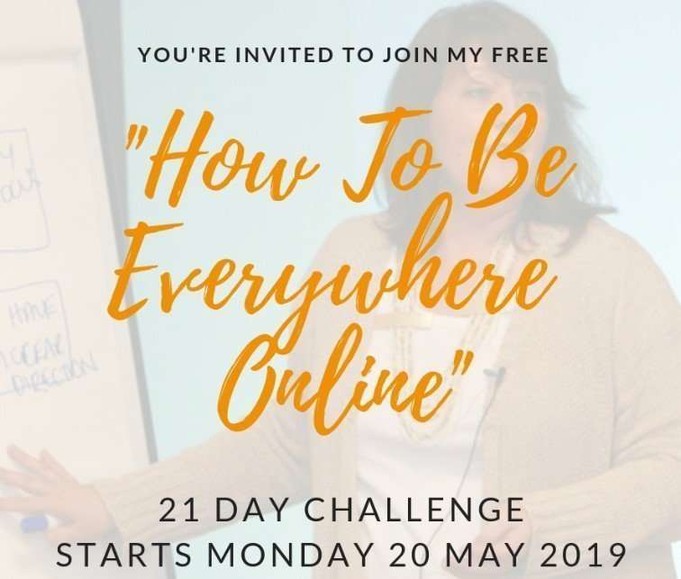 Be Everywhere Online 21 Day Challenge