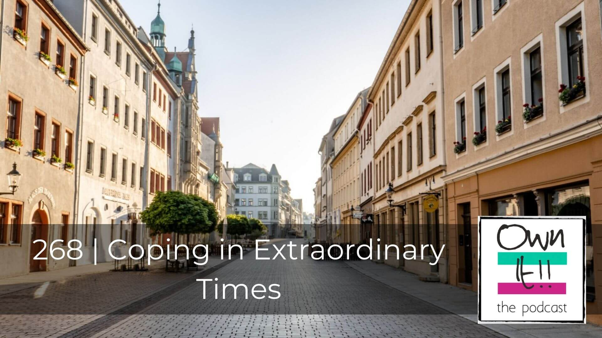 Own It! 268 | Coping in Extraordinary Times